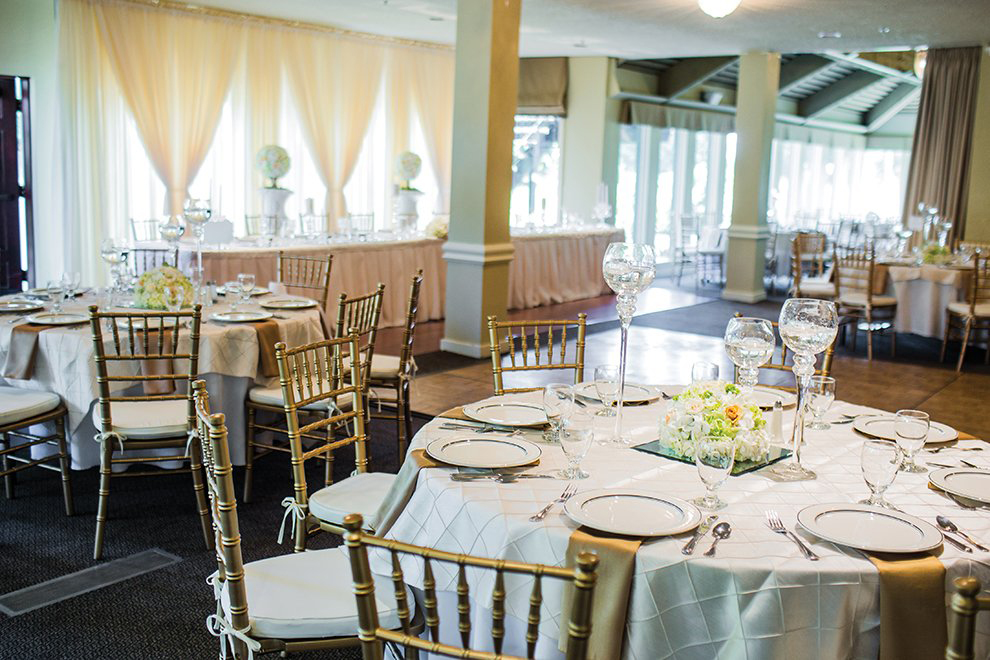 Rock Creek Country Club Portland Oregon Banquet Room Wedding Venue